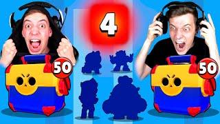 4 BRAWLER IN 1 MEGA BOX?! 😱 MEGA BOX OPENING BATTLE! 2x LEGENDÄRER BRAWLER! | Brawl Stars deutsch