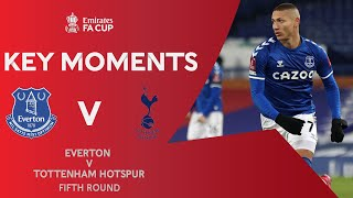 Everton v Tottenham Hotspur | Key Moments | Fifth Round | Emirates FA Cup 2020-21