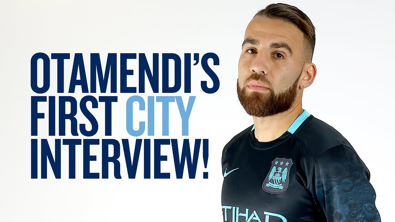 nicolas otamendi s first interview citytv exclusive