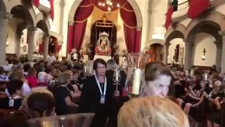 Procesión de la Virgen del Carmen, Los Realejos