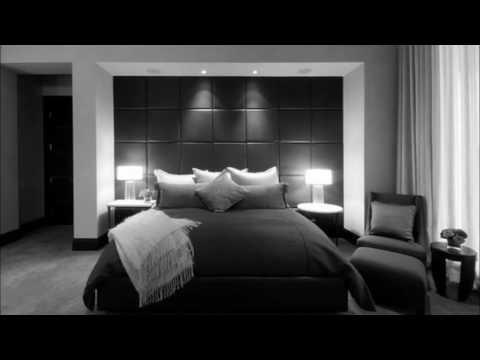 Minimalist Bedroom With White Bed Elegant Black Bedroom