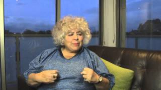 Miriam Margolyes Says It How It Is!