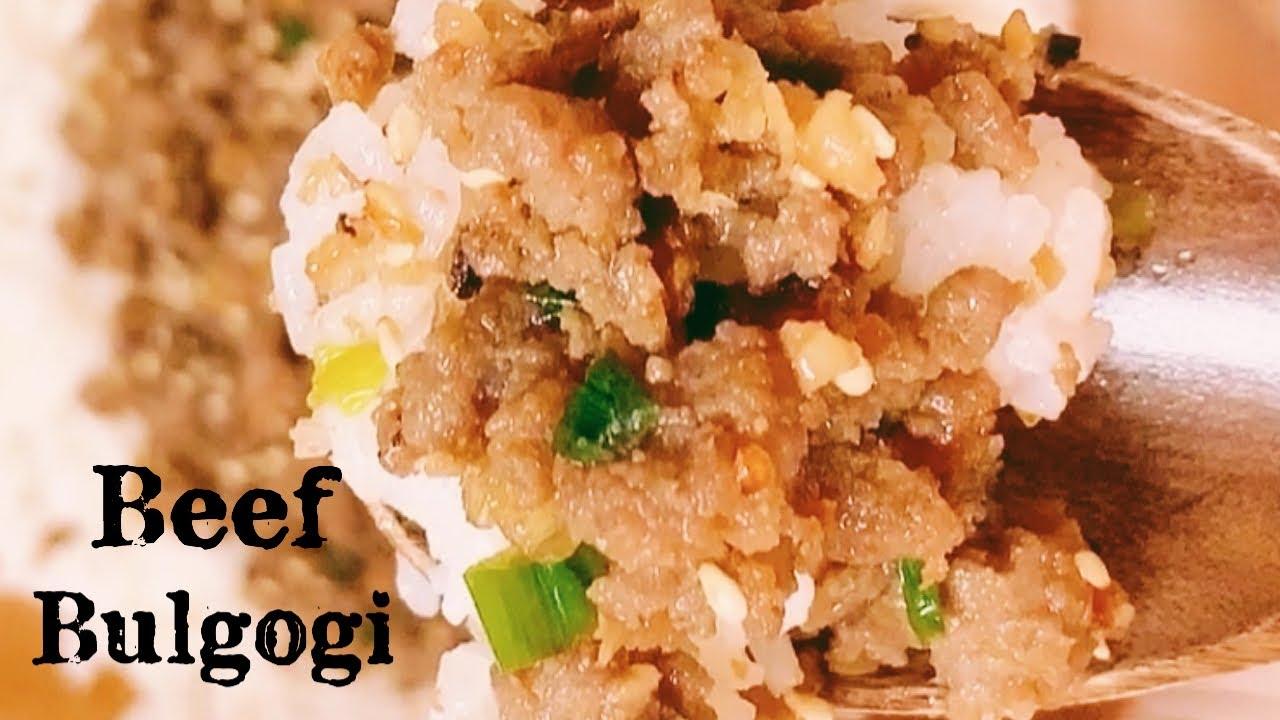 EASY GROUND BEEF BULGOGI!! (Korean Dish)   Pinay Cooking ...
