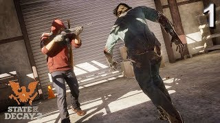 INTRO!!! STATE OF DECAY 2 Walkthrough Gameplay Part 1 - INTRO (Xbox One)