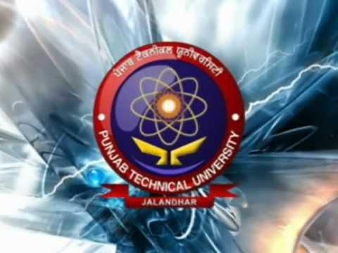 PTU Distance Education Introduction, Punjab Technical University