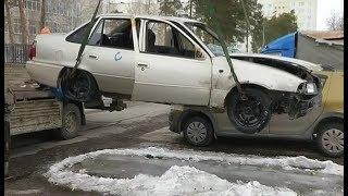 С улиц Нижневартовска вывезут брошенные автомобили