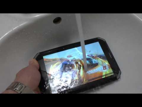 Защищенный планшет DEXP Ursus GX180 Armor.  Тест 1: вода.