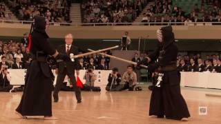 64th All Japan Kendo Championships — Final