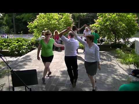 Ceili Club teaches the Highland Fling Irish Dance