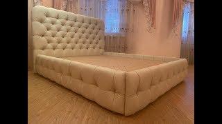 как сделать красивую кровать своими руками