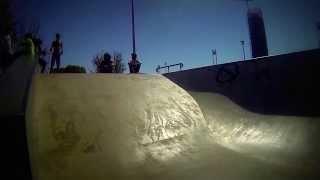 Repeat youtube video PDA - Longboard skatepark - Sevilla