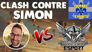 Clash of Clans - LIVE - GUERRES QUÉBEC - CLASH AVEC SIMON VS Quebec S.W.A.T