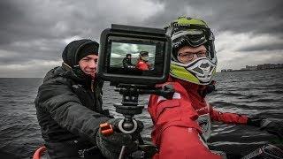 Съёмки Аэролодки, фотосессия, электромобиль.