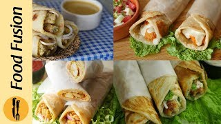 Most Wanted Paratha Roll Recipes By Food Fusion