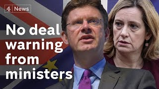 Ministers warn against no deal Brexit |#BREXIT
