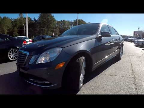 Walkaround Review of 2013 Mercedes Benz E350 black R02032