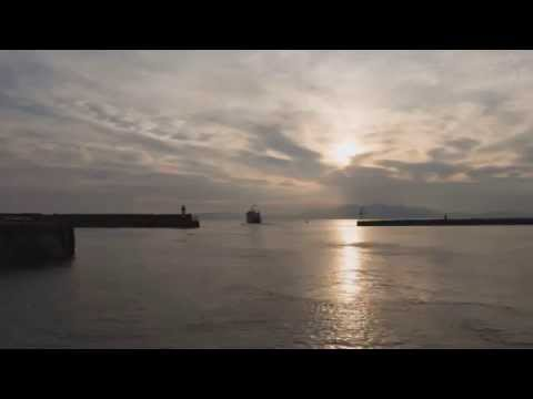 Time-lapse from Ardrossan harbour
