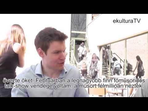 XX. Könyvfesztivál - Hannu Rajaniemi interjú - ekulturaTV