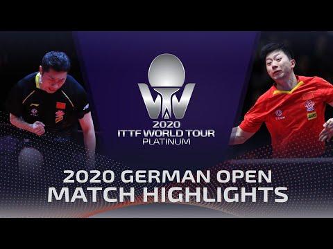 Ma Long vs Xu Xin | 2020 ITTF German Open Highlights (Final)