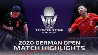 Ma Long vs Xu Xin | 2020 ITTF German Open Highlights (Final)