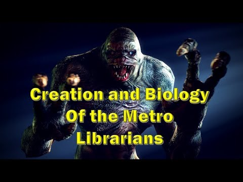 Metro 2033 Library Monster Explained: The Librarian | Stare, Scare, Demon fight, Territory, Behavior