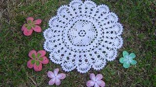 Como Aprender a tejer carpeta Fácil, a crochet paso a paso DIY parte 2/2