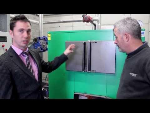 Solid Fuel Biomass Boiler (Moderator 240kw Dragon) 1/3