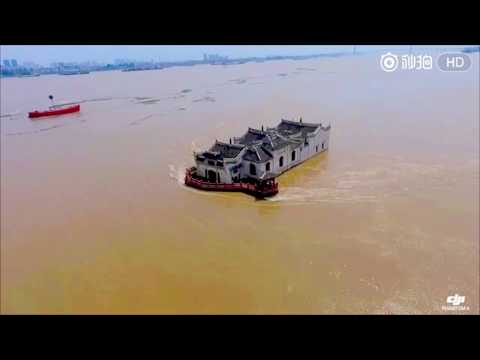 Miracle: 700-year-old pavilion survives historic Yangtze River flood