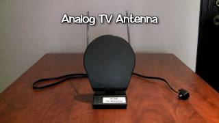 Difference Between Analog and Digital Antennas - Canadian Digital TV Transition PSA