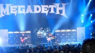 Megadeth Trust Mayhem Festival Camden NJ 7/31/11