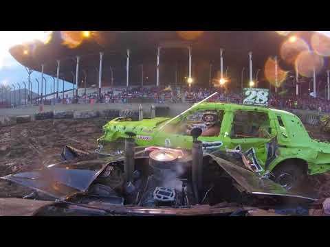 Mississippi Valley Demolition Derby August 26th, 2017 (Part 2)