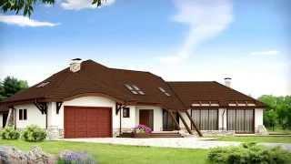 видео Планировка дома с цокольным этажом и спортзалом