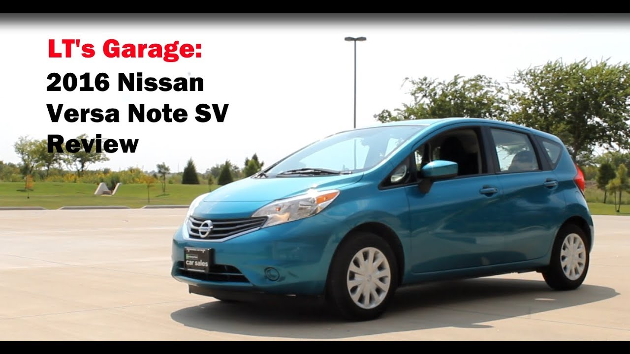 2016 nissan versa note sv review youtube. Black Bedroom Furniture Sets. Home Design Ideas