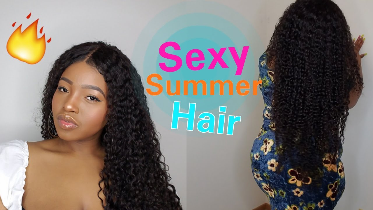 SEXY Summer Hair | How To Revive Curly Hair | Wash Day ...
