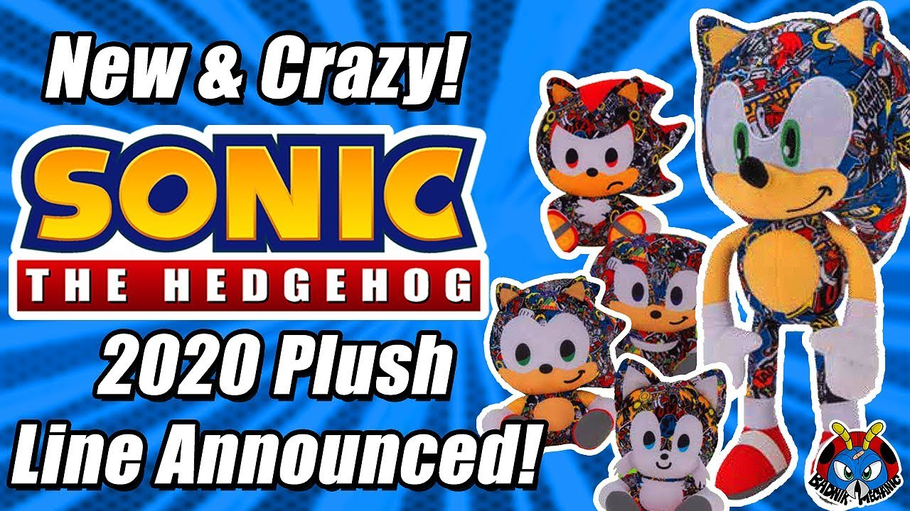 Toy Factory S Sonic The Hedgehog 2020 Plush Range Is Crazy Youtube