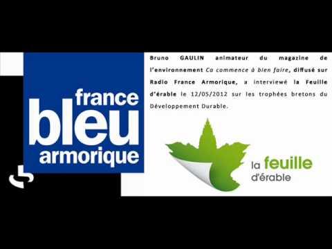 Radio France Armorique Feuille d'érable