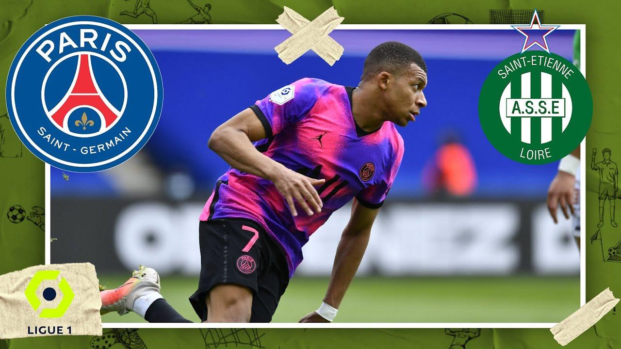 Download PSG vs St. Etienne | LIGUE 1 HIGHLIGHTS | 4/18/2021 | beIN SPORTS USA