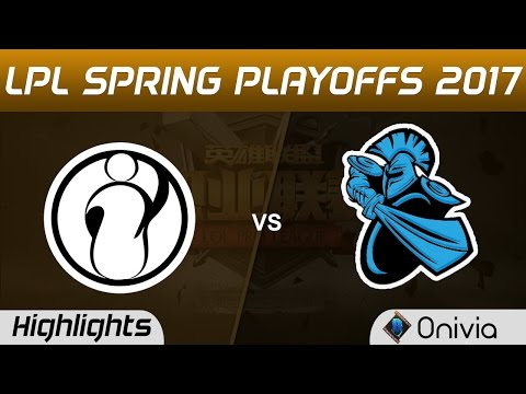 NB vs IG Highlights Game 3 LPL Spring Playoffs 2017 NewBee vs Invictus Gaming