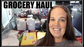 Once-A-Month Grocery Haul for our LARGE FAMILY - RV style!