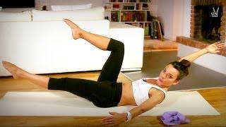Pilates Flat Abs: Fortgeschrittene Übungen für sexy, flache Bauchmuskeln