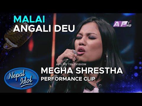 Coca-Cola Nepal Presents Nepal Idol Season 3 | Malai Angali Deu | Megha Shrestha