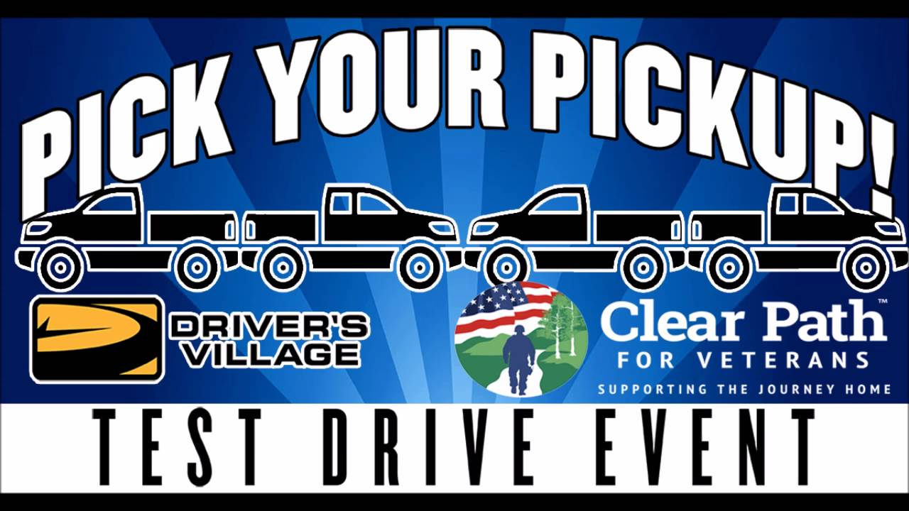 Driver s village pick your pickup event
