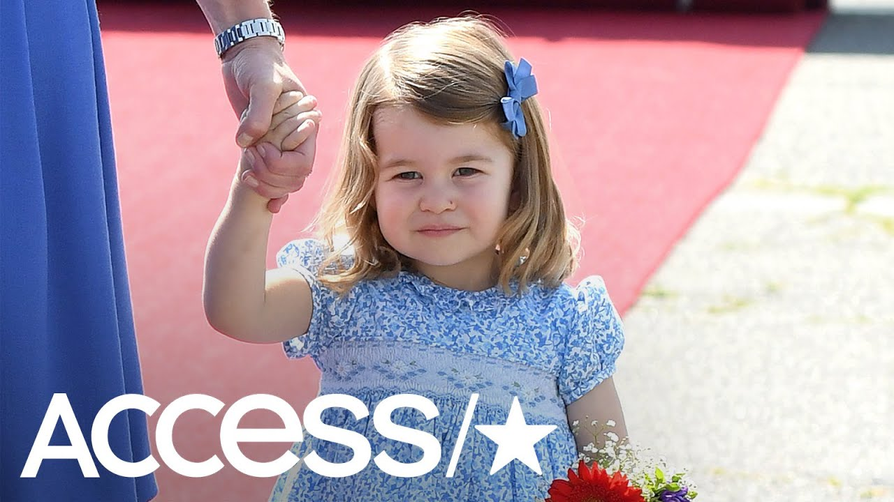 Queen Elizabeth II Says Princess Charlotte Looks After Big Brother ...