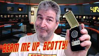 Full Look At The Star Trek Bluetooth Communicator 🤓🖖