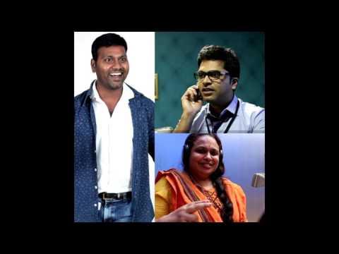 singer subha ji kku vada pochea #sarithiran in narithanam