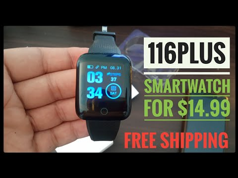 116plus Smart Watch Bluetooth Sports Bracelet Test HESTIA
