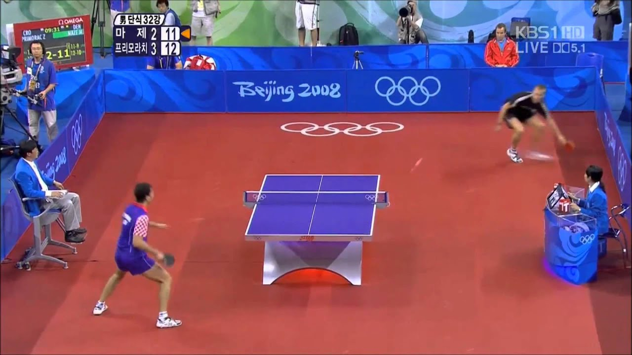 Best 10 Ping Pong Points 2012 - YouTube