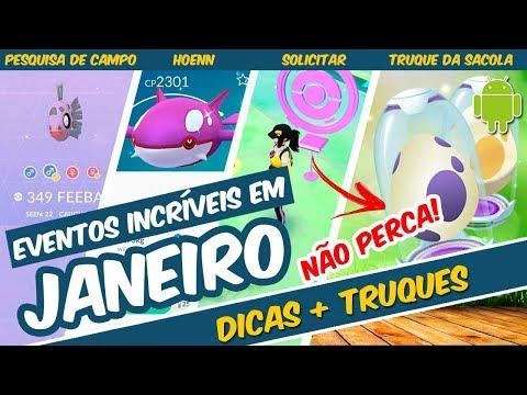 APROVEITE AO MÁXIMO OS EVENTOS DE JANEIRO DE POKEMON GO - DICAS E TRUQUES thumbnail