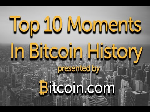 Top 10 Moments in Bitcoin History - Bitcoin.com #1