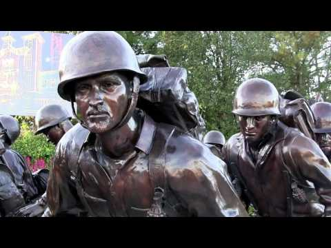 World War II Memorial Bronze Sculpture